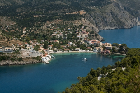 Assos on the Island of Kefalonia in Greece
