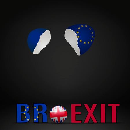 kingdom of spain: United Kingdom Brexit Cracked eggs