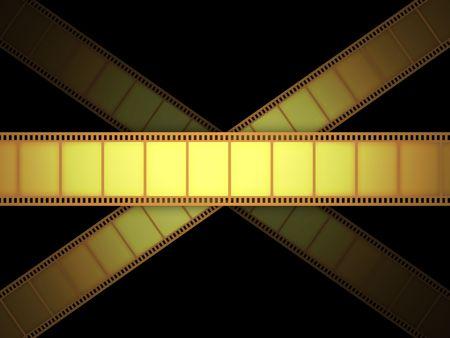 screenplay: Cinema Video Film Stock Photo