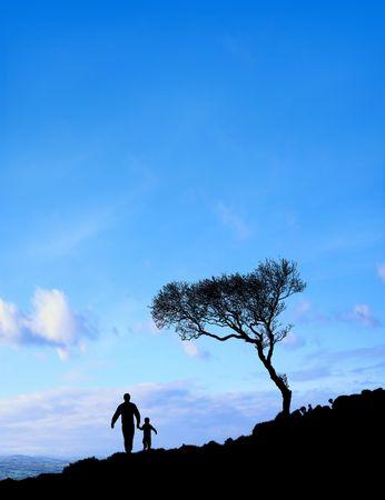 Father And Son (Sun Sky)