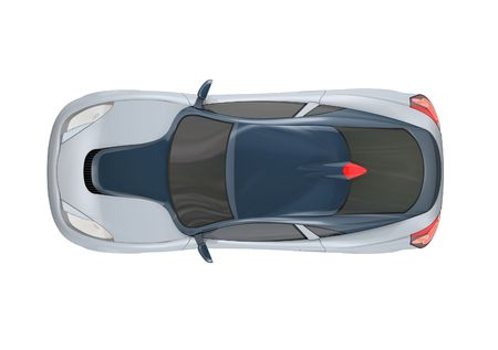 silver sports car: Sports Car