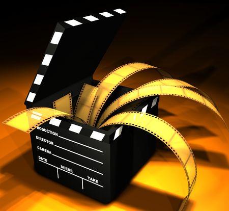 directors cut: Clapboard