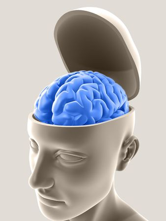 healthy brain: Open your mind and receive good ideas.