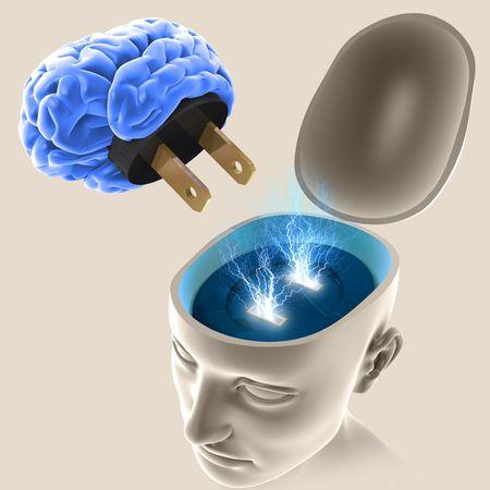 mente: Conecta tu mente y comenzar a pensar. Tu mente es la mejor herramienta que usted tiene.