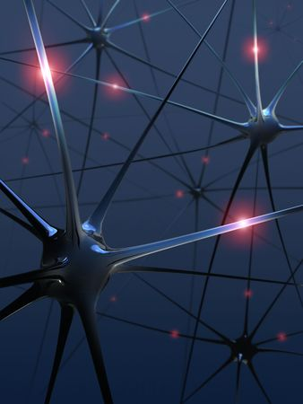 Neurons (The power of the mind) Stock Photo - 2034010