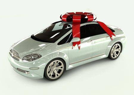 dream car: Este coche es un concepto de dise�o, por lo que es no existe en ninguna parte. La ventaja es que esta imagen no tiene ninguna caracter�sticas de un verdadero coche.  Foto de archivo
