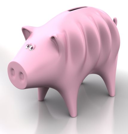 excessive: Spend without economy. Piggy very lean, concept of excessive spending, bad business, few sales and so on.