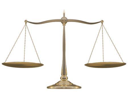 ponder: Golden balance over white