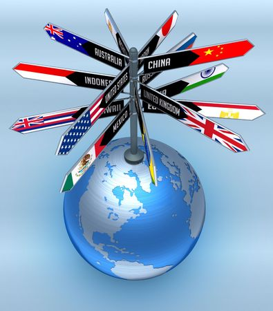 Global Business and Tourism. photo