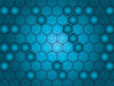 hive: Resumen de antecedentes de formas hexagonales. F�cil de editar el color y el dise�o.  Vectores