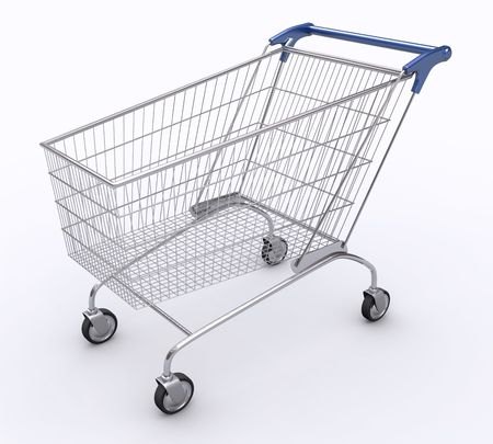 Shopping Cart (Angle 1)