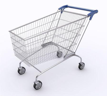 pushcart: Shopping Cart (Angle 1)