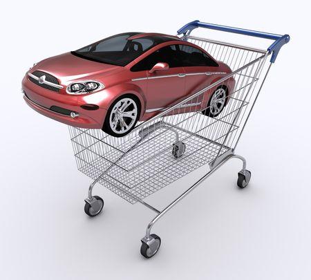 trolly: Shopping Cart (Buying Car)
