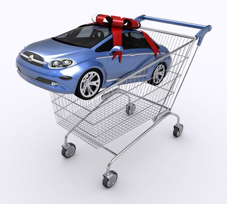 trolly: Shopping Cart (Buying Car)