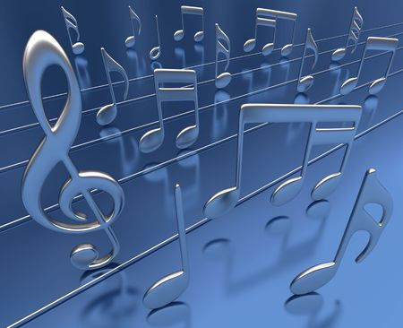 Musical Note Stock Photo - 2671290