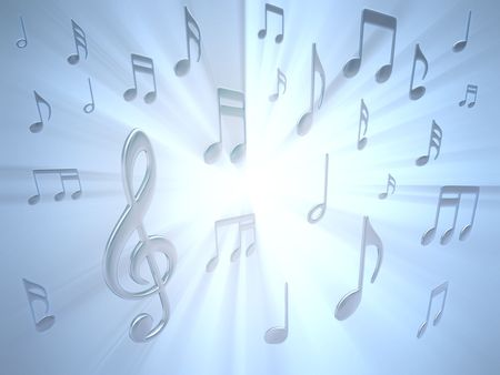 Musical Note Stock Photo - 2671289