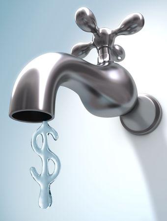 llave de agua: El precio del agua