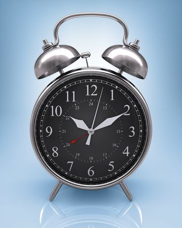 Old clock. Concept of time passing. Time is . Stock Photo - 3335104
