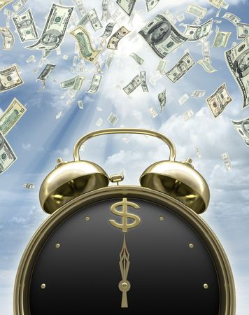 tempo: It is time to earn money.