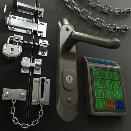 Security-Konzept Standard-Bild