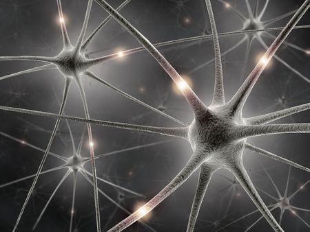 neurona: Neuronas Foto de archivo