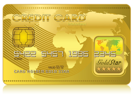 Credit Card  Illustration