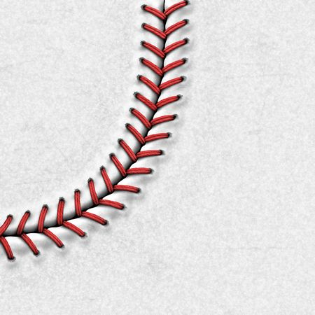 Baseball Background | Highly Detailed Texture Stock Photo