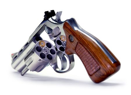 shooter: Russian Roulette Stock Photo