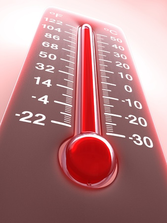 Temperature of the Planet Earth. Concept of greenhouse effect.