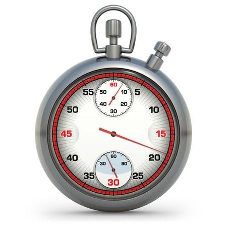 Stopwatch in 3D illustration Stock Illustration - 13225548