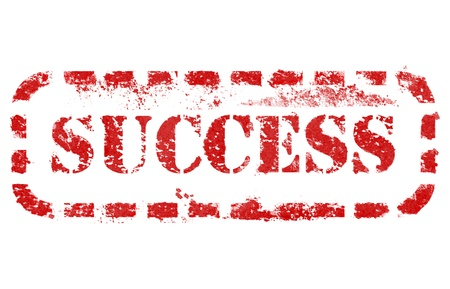 Success stamp over white background. High detail in high resolution. Stock Photo - 14471374