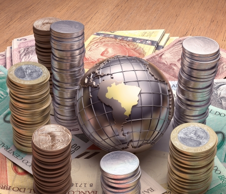 economy growth: Golden globe with emphasis on Brazil and its economy