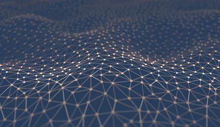 neurona: Resumen de antecedentes de las tuberías y conexiones. Foto de archivo