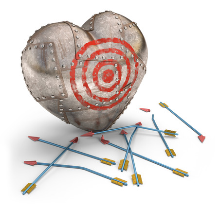 love target: Cupid failed trying to hit the heart protected.