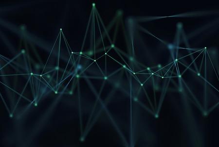 파이프 및 연결의 추상적 인 배경입니다.