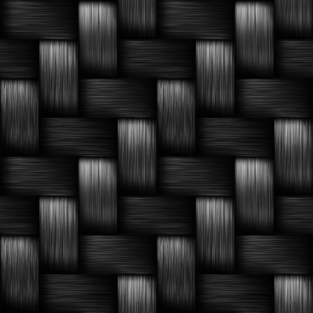 Carbon fiber background, image seamless. Stock Photo