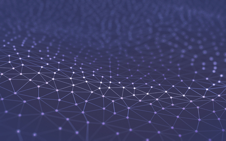 Résumé de fond dans un concept de la technologie et de la science. Banque d'images