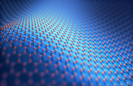 nanotube: Abstract background hexagonal structure. Image concept of technology to use as background. Stock Photo