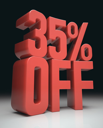 rebate: 3D image concept of promotion, rebate on your purchases. Clipping path included.