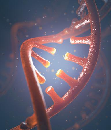 cytosine: 3D image concept of DNA and RNA molecules.