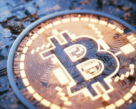Cryptocurrency bitcoin business. Cryptocurrency digital money. Global business network market, modern currency exchange peer to peer. Financial business concept.
