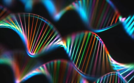 Image of genetic codes DNA.