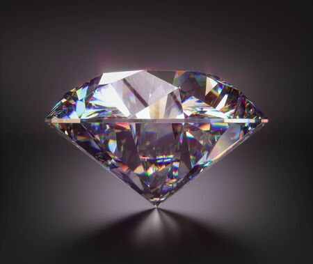 Giant diamond gem with clipping mask. 版權商用圖片