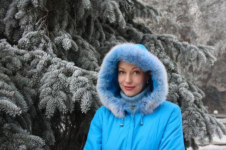 fur hood: Maiden