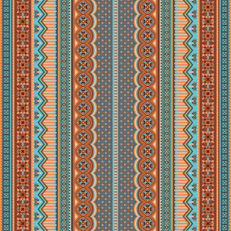 Abstract ethnic stripe pattern, vector background