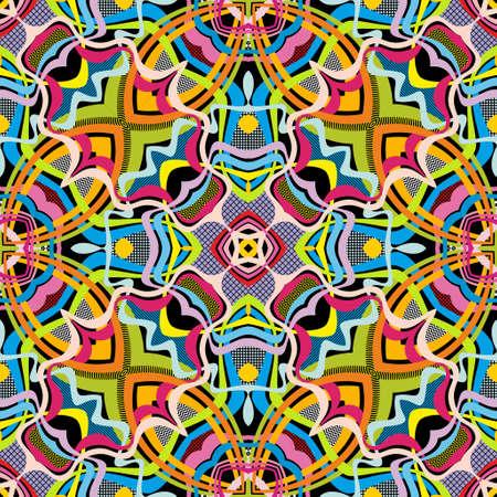 Vector abstract seamless pattern. Ilustração