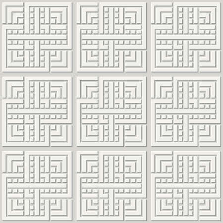 Vector paper cut geometric modern background. Vetores