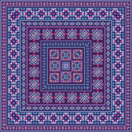 Vector decorative ethnic ornamental illustration
