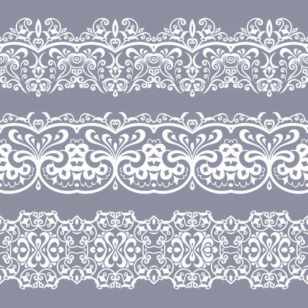 Abstract ethnic nature seamless line art stripes