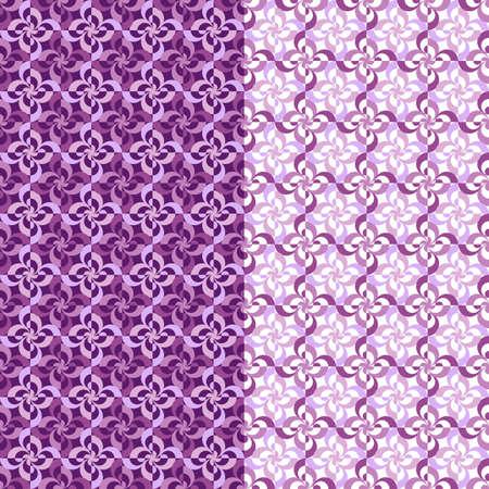 Vector rhythmic geometric elements background